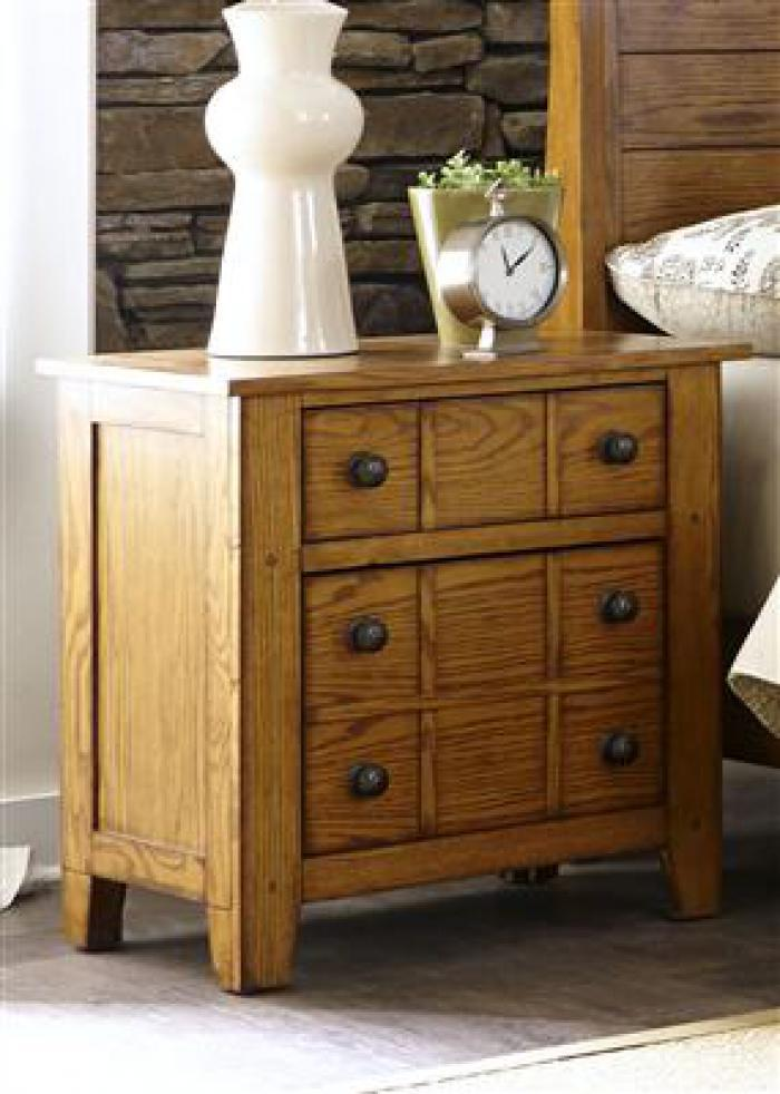 175 Grandpas Cabin Night Stand,Liberty Furniture Industries