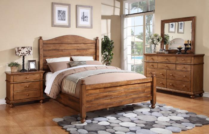 BQ100 Acacia Queen Panel Bed ,Winners Only, Inc.