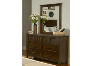 461 Laurel Creek 6 Drawer Dresser