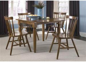 38 Creations II Drop Leaf Table w/4 chairs